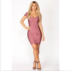 NWT Fashion Nova Banded Together Dress